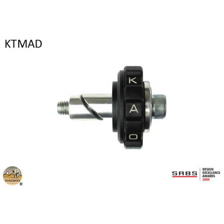 KAOKO Stabilisateur de guidon avec régulateur de vitesse - KTM 1190 / R 13- LC4 640 690