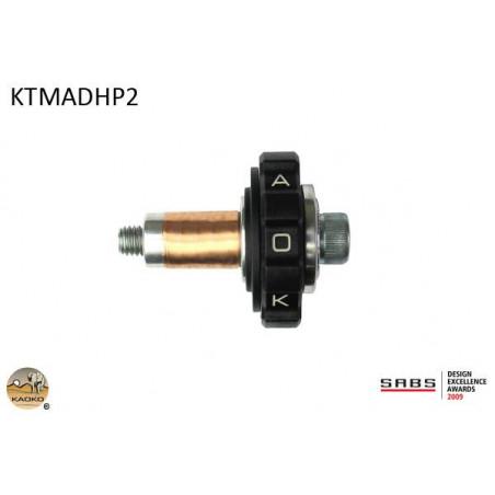 KAOKO Stabilisateur de guidon avec régulateur de vitesse - BMW HP2 (aussi avec protège-mains)