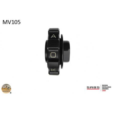 KAOKO stabilizzatore manubrio con cruise control - MV Agusta Rivale 800 13 (con