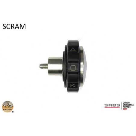 KAOKO Stabilisateur de guidon avec régulateur de vitesse - TRIUMPH Scrambler 900 / Bonnevi