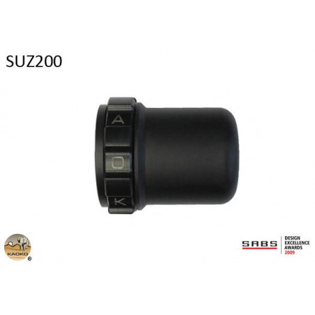 KAOKO Stabilisateur de guidon avec régulateur de vitesse - SUZUKI GSX1300R / 1400RHayabusa