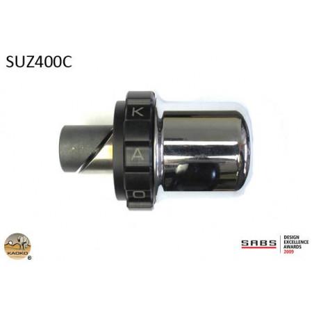 KAOKO Stabilisateur de guidon avec régulateur de vitesse - SUZUKI AN650 Burgman Deluxe / E