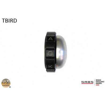 KAOKO Stabilisateur de guidon avec régulateur de vitesse - TRIUMPH THUNDERBIRD 1600 jusqu'à