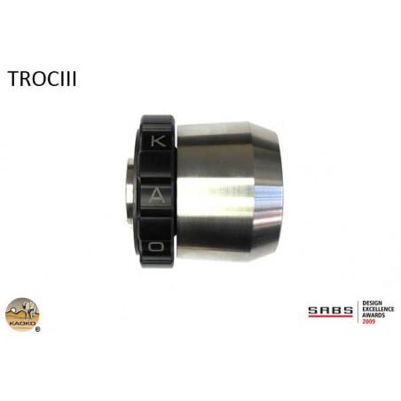 KAOKO stabilizzatore manubrio con cruise control - TRIUMPH Rocket III fino al 1