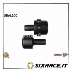 KAOKO Stabilisateur de guidon avec régulateur de vitesse - Modèles URAL 00-14 (avec