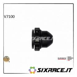 KAOKO Stabilisateur de guidon avec régulateur de vitesse - MOTO-GUZZI V7 Stone 13