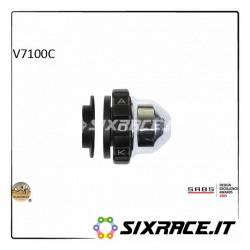KAOKO Stabilisateur de guidon avec régulateur de vitesse - MOTO-GUZZI V7 RACER 13- V7