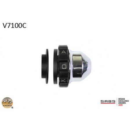 KAOKO stabilizzatore manubrio con cruise control - MOTO-GUZZI V7 RACER 13- V7