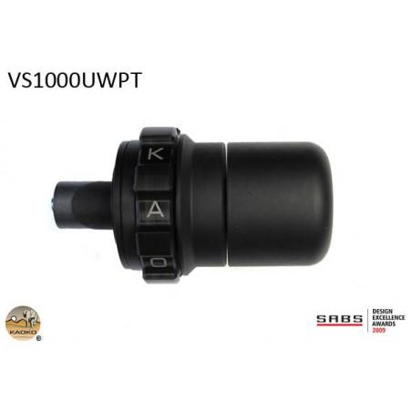 KAOKO stabilizzatore manubrio con cruise control - SUZUKI DL650 V-Strom (con par