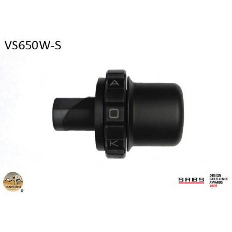 KAOKO Stabilisateur de guidon avec régulateur de vitesse - SUZUKI DL650 V-Strom (sans