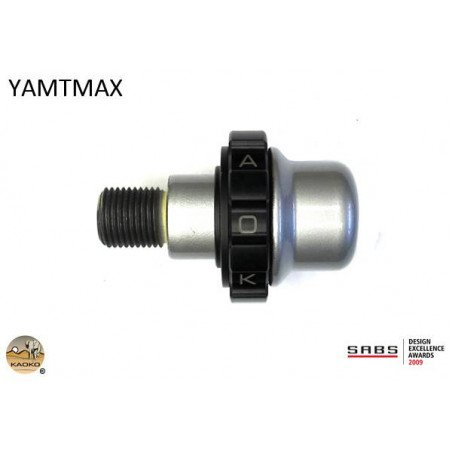 KAOKO stabilizzatore manubrio con cruise control - YAMAHA TMAX 500 Scooter 10-