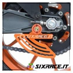 pinna sicurezza catena per KTM RC125/200/390 / Husqvarna Vitpilen 701 - colore a