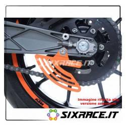 pinna sicurezza catena per KTM RC125/200/390 / Husqvarna Vitpilen 701