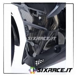 griglia protezione collettori scarico Suzuki GSXS 750 17- - colore titanio