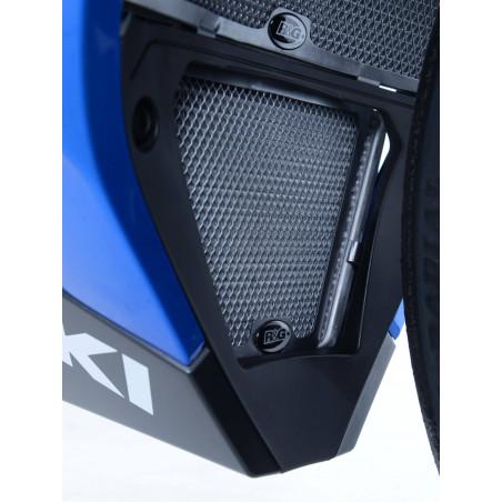 grille de protection du refroidisseur d'huile Suzuki GSX-R1000 / R 17- (couleur titane) - ver