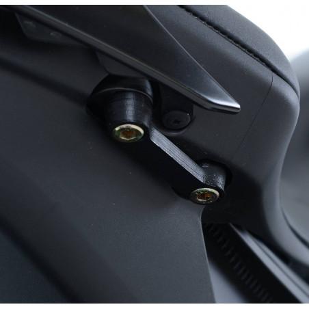 Placchette copri fori poggiapiedi posteriori coppia Yamaha YZF-R6 17- RG