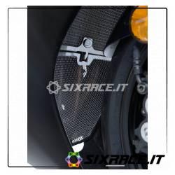 griglia protezione collettori scarico Yamaha YZF-R6 17- - colore nero RG