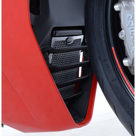 grille de protection du refroidisseur d'huile Ducati Supersport S 17- (couleur noire) RG