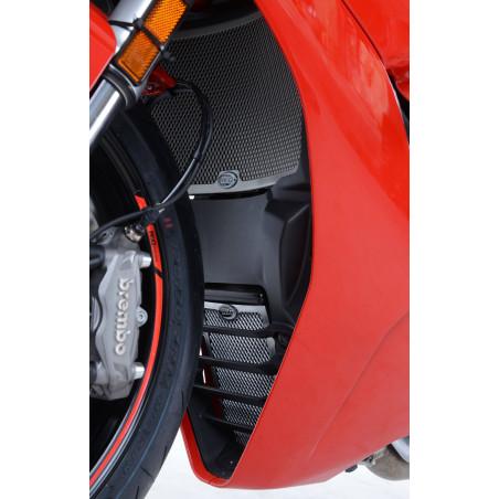 set griglia protezione radiatore e radiatore olio - Ducati Supersport S 17- (co