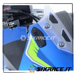 Placchette coprifori specchietti Suzuki GSX250R 17- RG