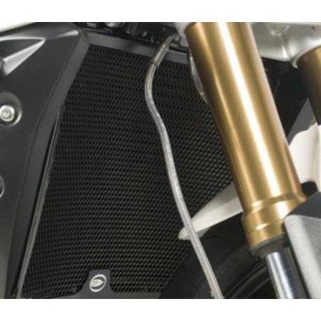 grille de protection de radiateur - Suzuki GSR750 11 / GSXS 750 17- (couleur titane