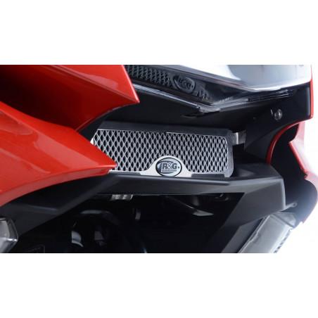 grille de protection du radiateur d'huile BMW K1600 GT SE 17- (couleur aluminium) RG
