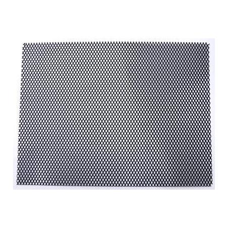 """grille de protection de radiateur universelle (12 x 16 """") - couleur titane RG"""""""