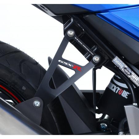 Staffa supporto scarico + piastra fori pedane posteriori - Suzuki GSX 250R 17-