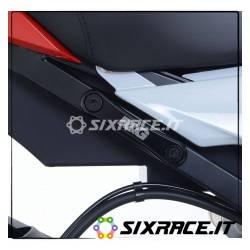 Placchette copri fori poggiapiedi post.(sing) BMW S1000RR 10-15 / S1000R 14-