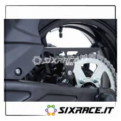 Paracatena in alluminio Kawasaki Z650 / Ninja 650 17- - colore nero CG0012BK R