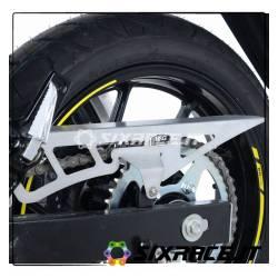 Paracatena in acciaio Suzuki V-STROM 250 - colore silver CG0016SI RG