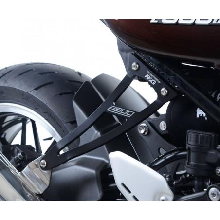 Staffa supporto scarico + piastra fori pedane posteriori - Kawasaki Z900RS EH008