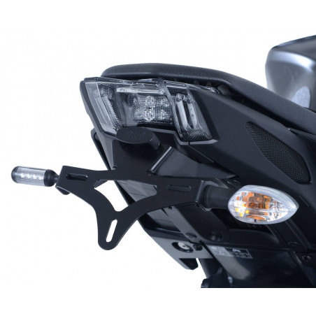 Support de plaque d'immatriculation Yamaha MT-09 (FZ-09) 17- / MT-09 SP 18- (fixation sous goudron
