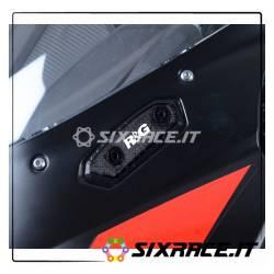 Placchette coprifori specchietti Suzuki GSX-R 125 MBP0031BK RG