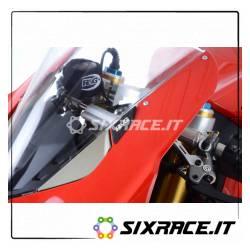 Placchette coprifori specchietti Ducati Panigale V4 / V4S MBP0032BK RG