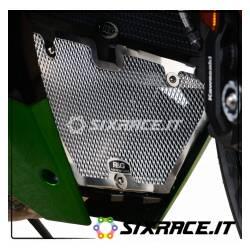 griglia protezione collettori scarico Kawasaki H2 SX - colore titanio