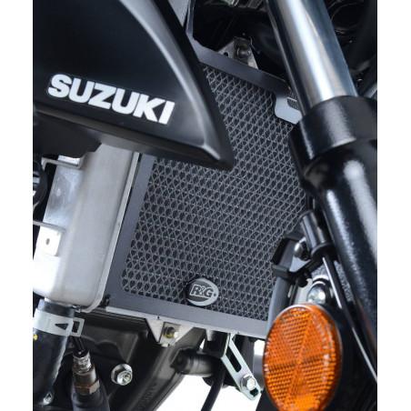 grille de protection de radiateur - Suzuki GSX-R 125 / GSX-S 125 (couleur titane) RAD0