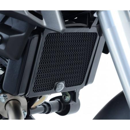 grille de protection de radiateur - Yamaha MT-125 (également modèle ABS) (couleur titane)