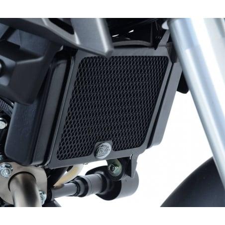 griglia protezione radiatore - Yamaha MT-125 (anche modello ABS) (colore titanio)