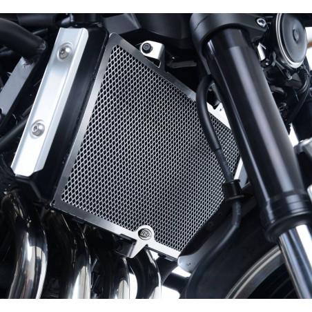 griglia protezione radiatore - Kawasaki Z900RS (colore titanio) RAD0228TI RG