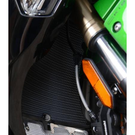 griglia protezione radiatore - Kawasaki H2 SX (colore titanio) RAD0231TI RG