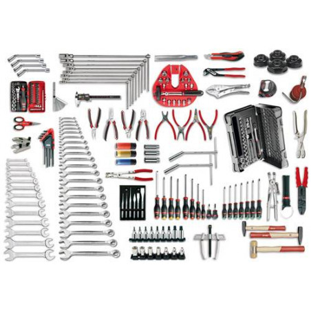496 B7 - Assortiment AUTO (210 pcs)