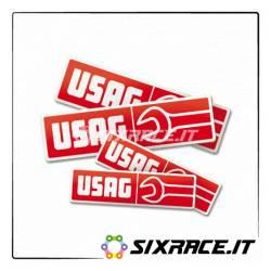 3783_20x5.2 - Adesivo logo Usag