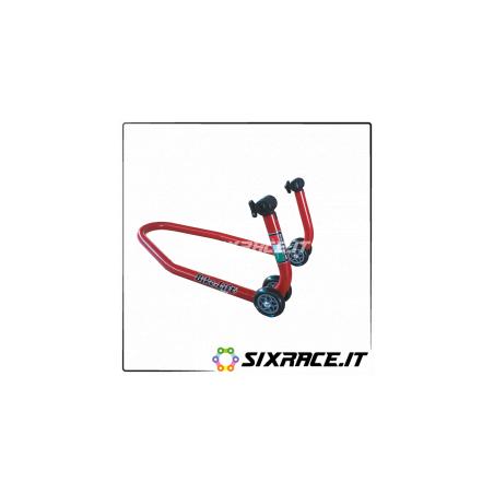 FS-10/H+SBG/10P - Bikelift cavalletto anteriore alto pinze radiali supporti in gomma a T regolabile Ducati Panigale -