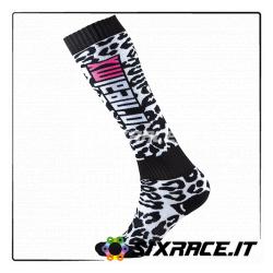 PRO MX Calze WILD black/white/pink