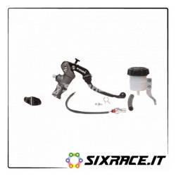 KIT4 - KITA 4 Pompa Accossato D 19 Leva Snodata Corta + Supporto Specchio + Idrostop + Vaschetta -