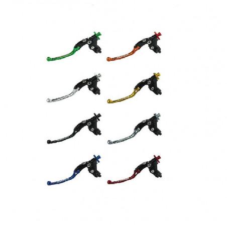 Comando Leva Frizione Snodata Accossato + Micro + Supporto Specchietto Inclusi