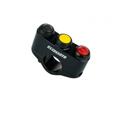 Bouton-poussoir gauche 3 boutons Cumul LATO DX / SX personnalisable