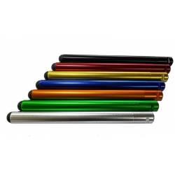 Tubi semimanubri in alluminio in lega 7003 - Ricambio per CP001 e CP002 2pz