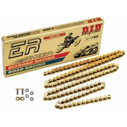 CATENA DID 520ERV3 PASSO 520 Racing 110 MAGLIE PER YAMAHA XJR 1300 99/01